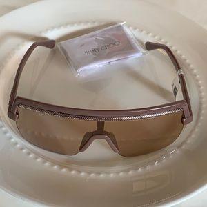Jimmy choo shield sunglasses